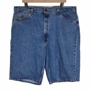 LEVIS Vintage Shorts 550 Relaxed Fit Orange Tab 42